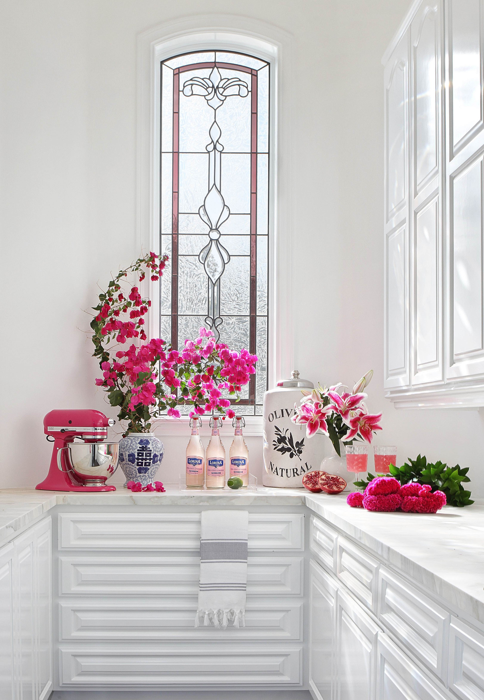 Modern Pink Pantry Melissa Morgan Design 2
