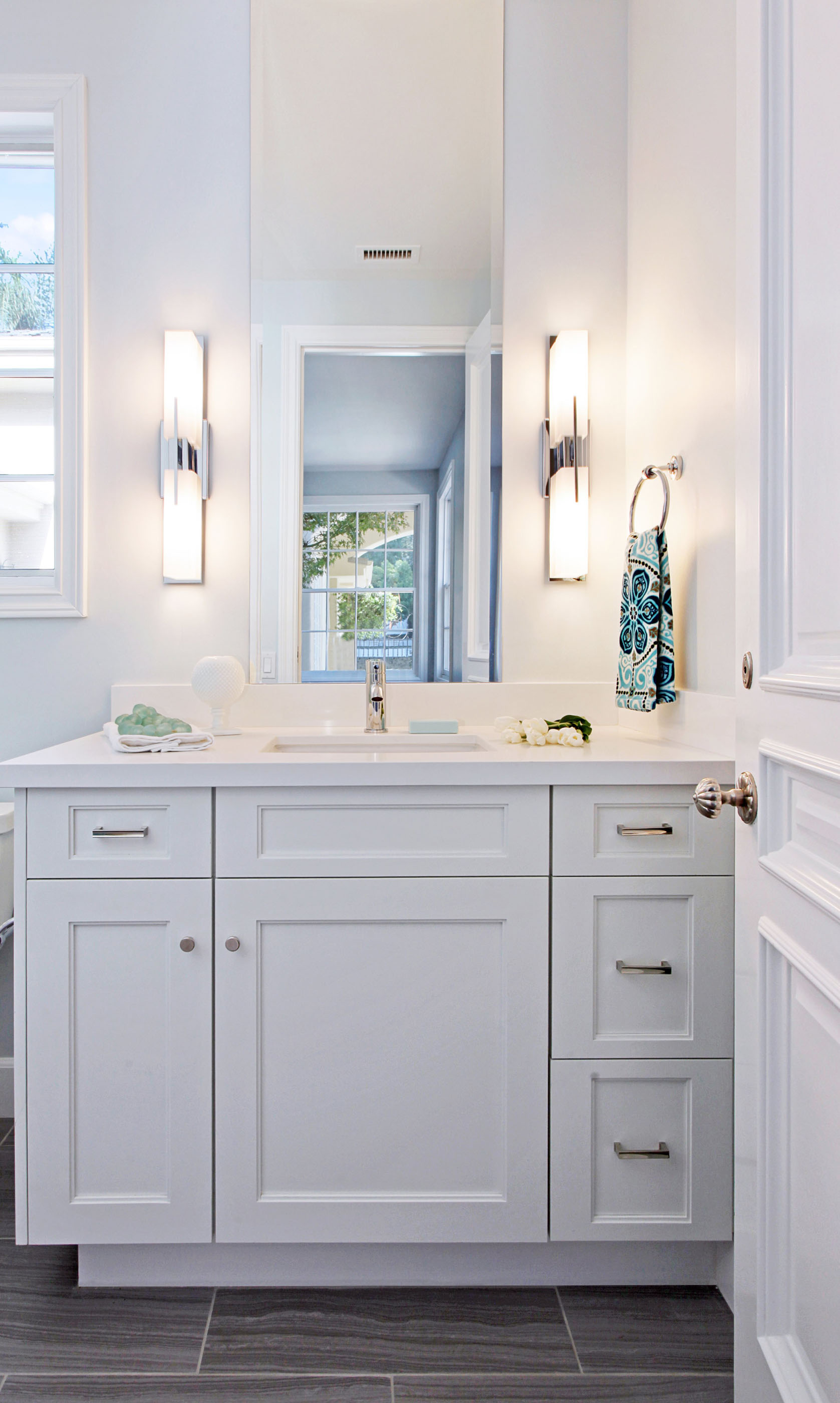 Modern Guest Bathroom Melissa Morgan Design 2