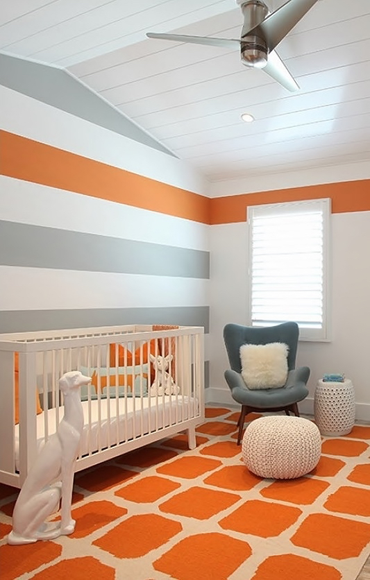 Gray Nursery Melissa Morgan Design