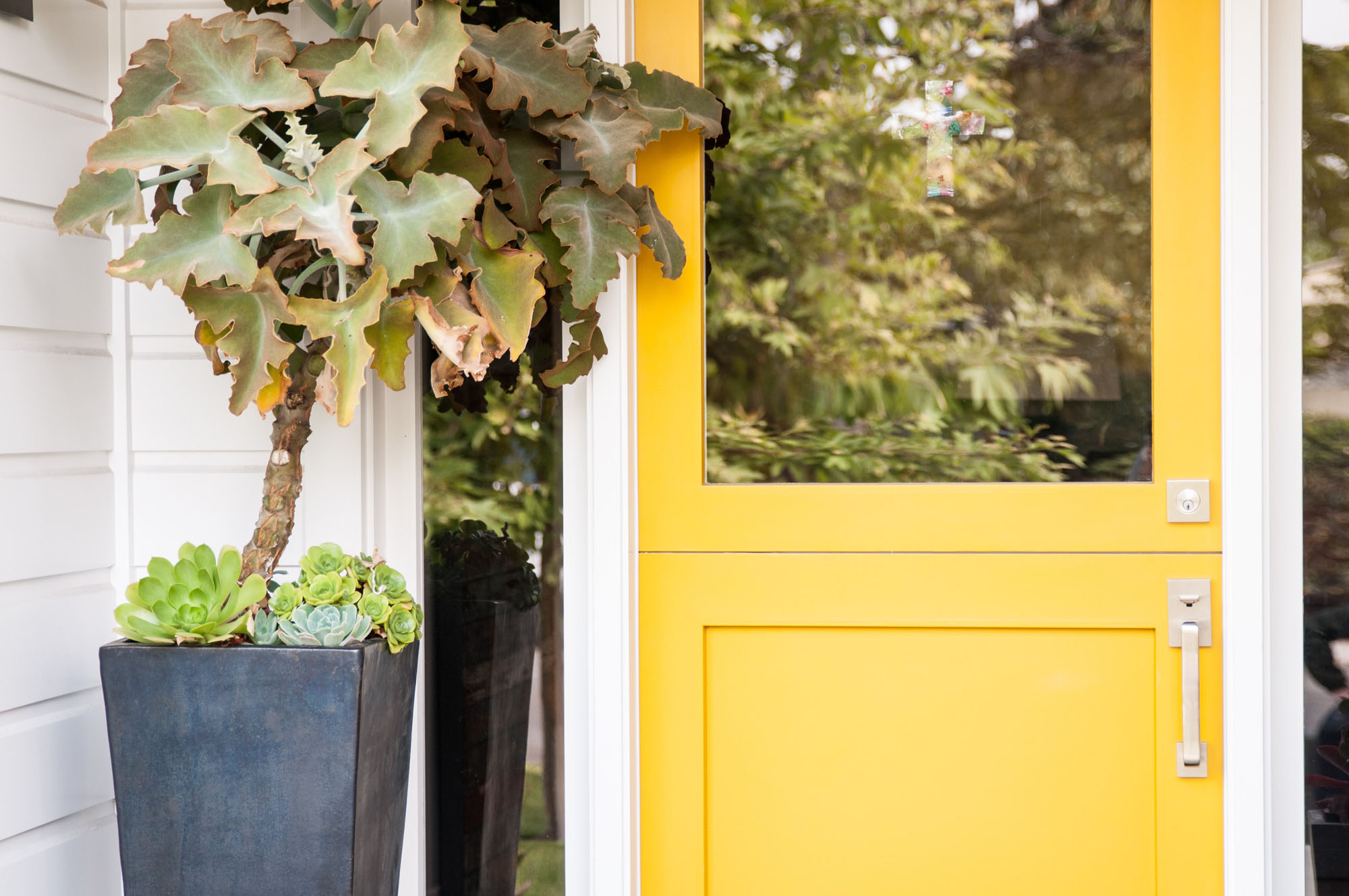 Yellow Front Door Melissa Morgan Design