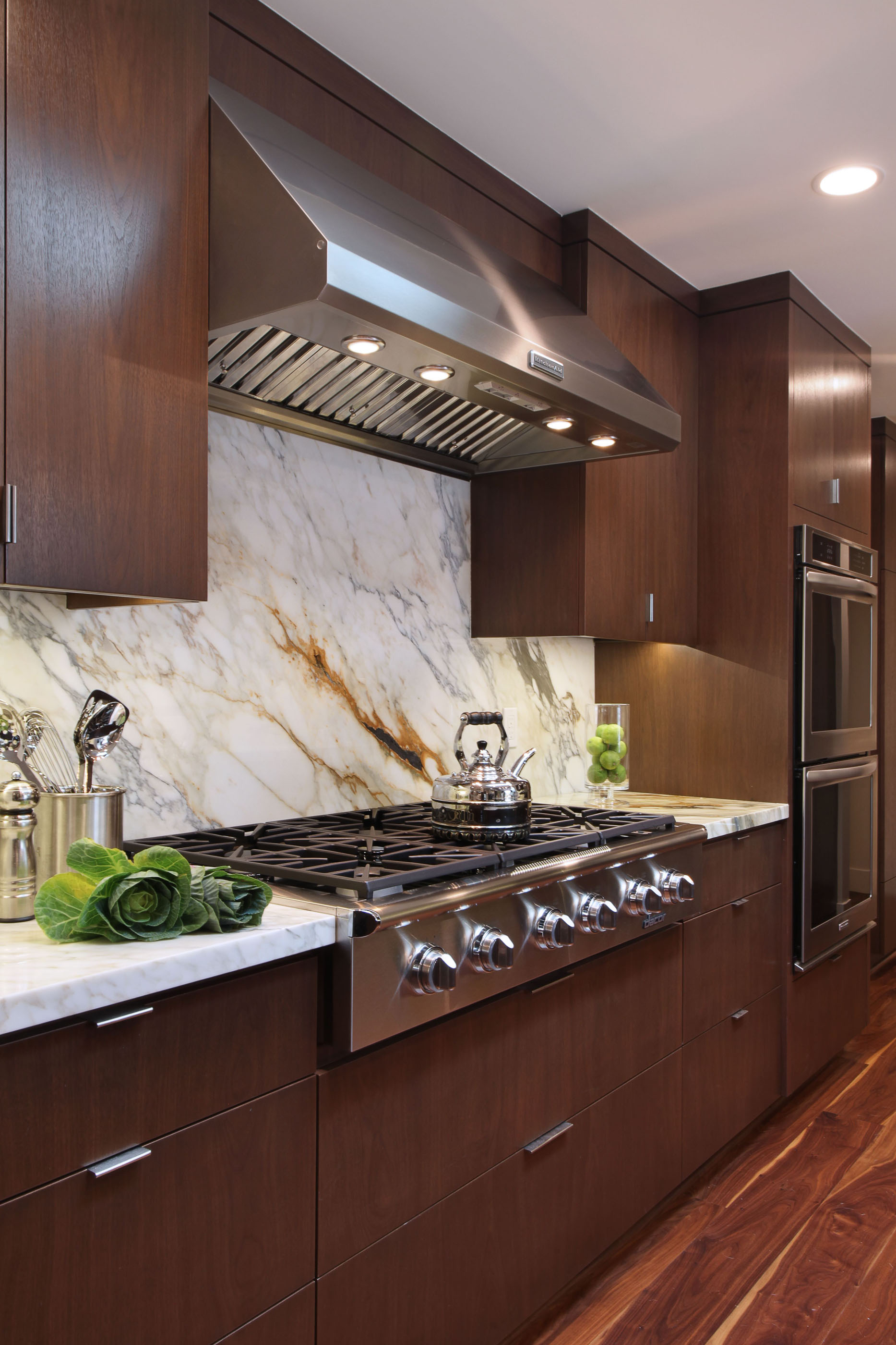 Marble Kitchen Backsplash Melissa Morgan Design