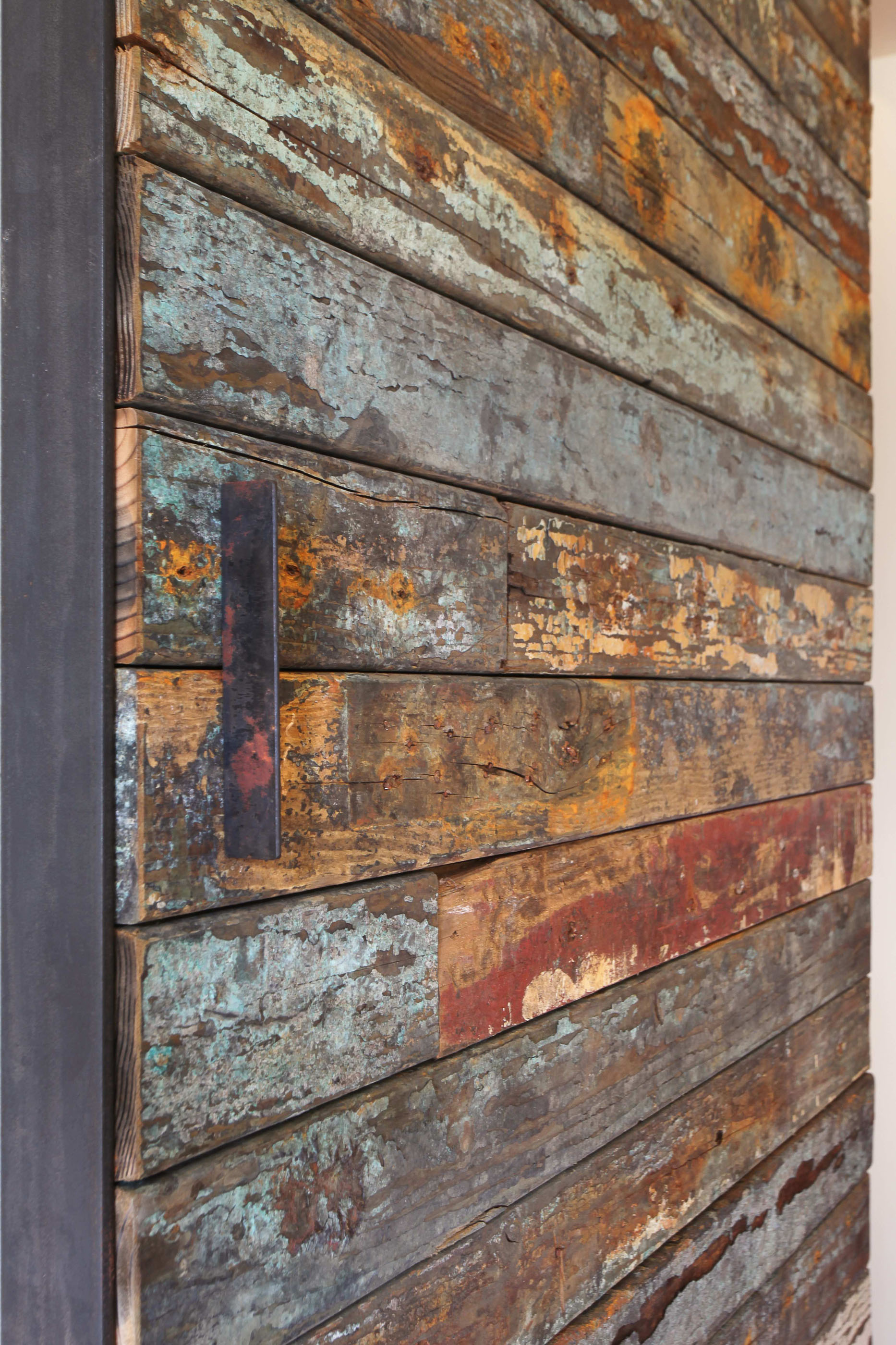 Reclaimed Wood Barn Door Handle Melissa Morgan Design