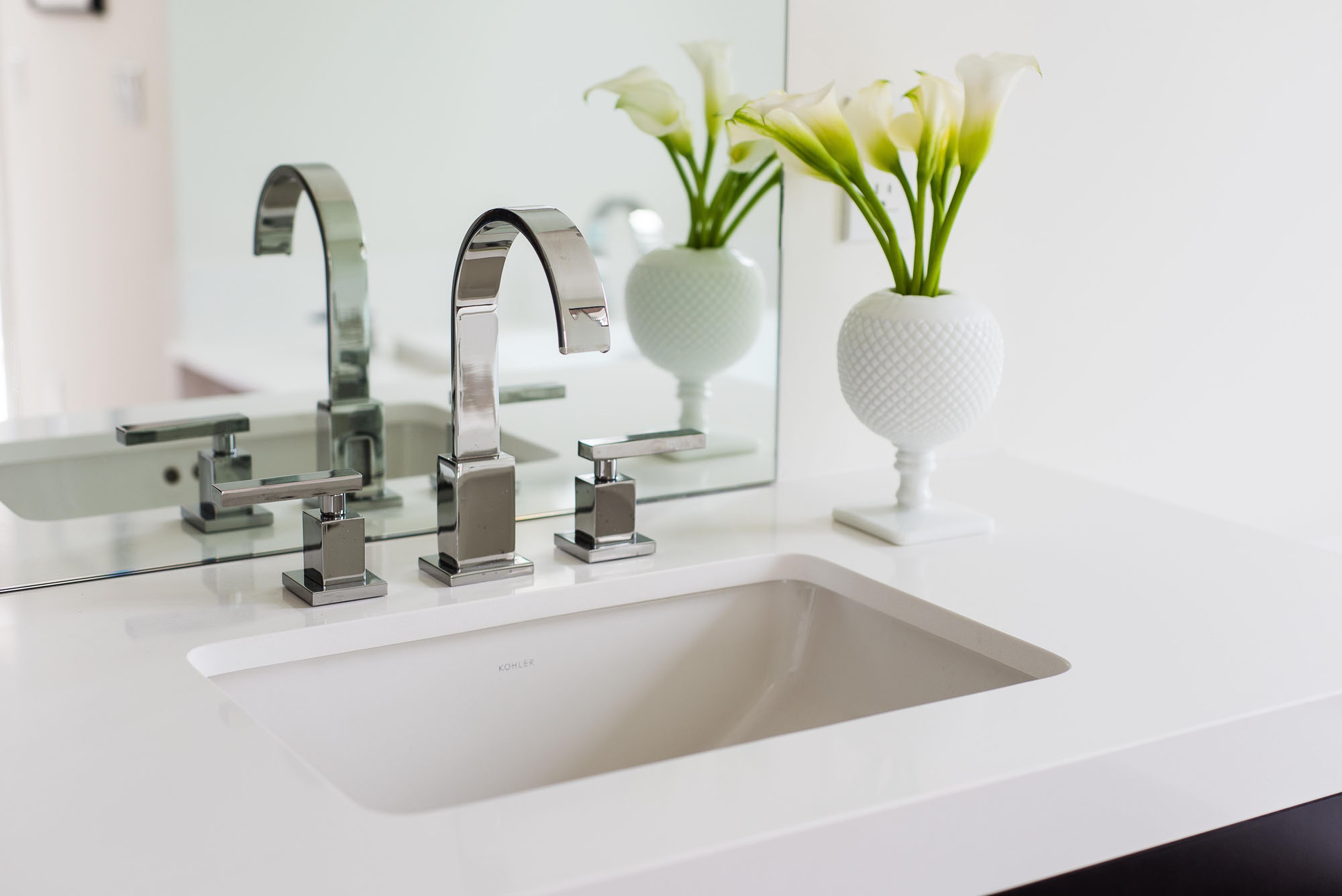 Square Chrome Faucet Melissa Morgan Design