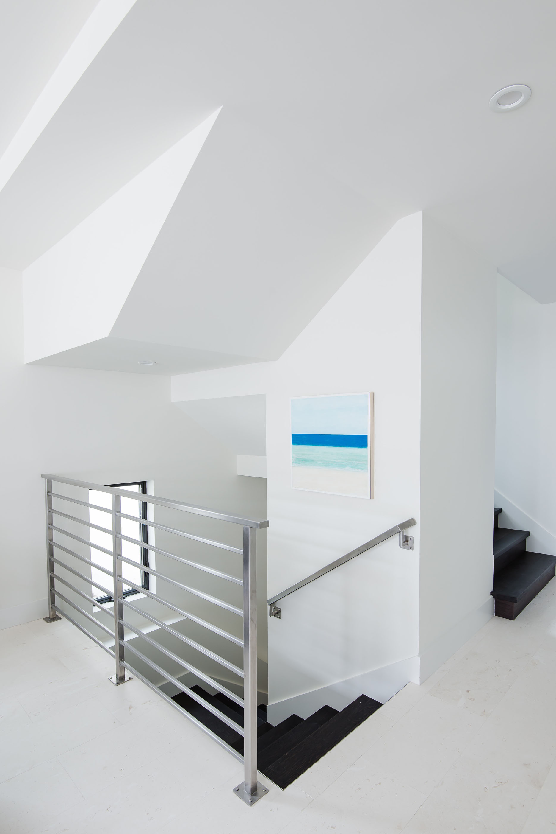 Modern Staircase Melissa Morgan Design