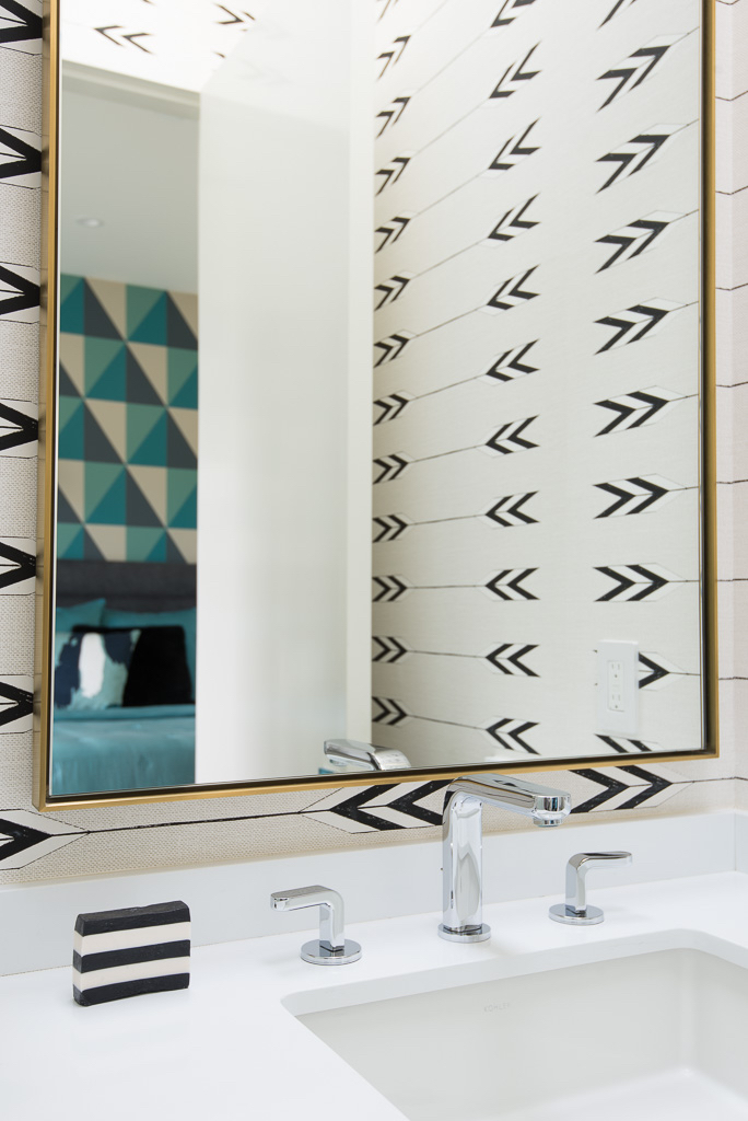 Bathroom Mirror Melissa Morgan Design