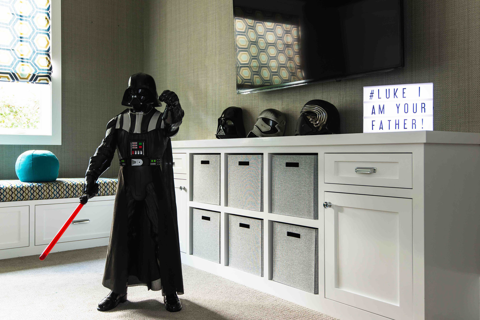 Darth Vader Kids Room Melissa Morgan Design
