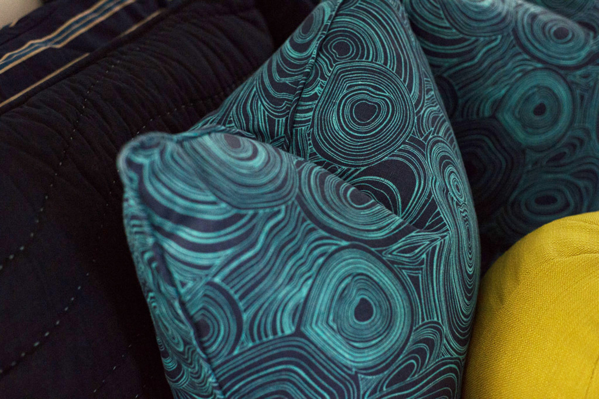 Blue Pillow Melissa Morgan Design