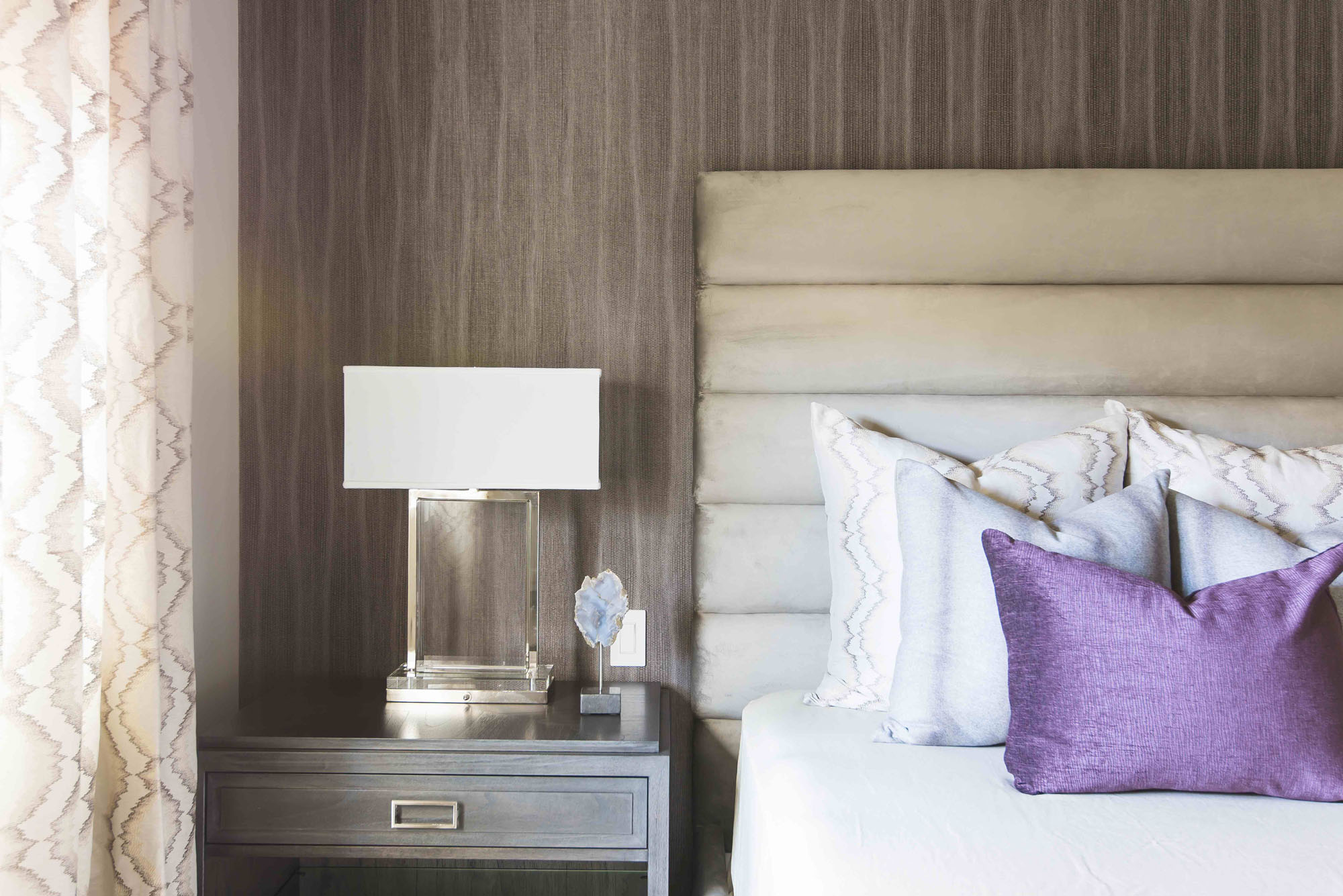 Channel Headboard Melissa Morgan Design