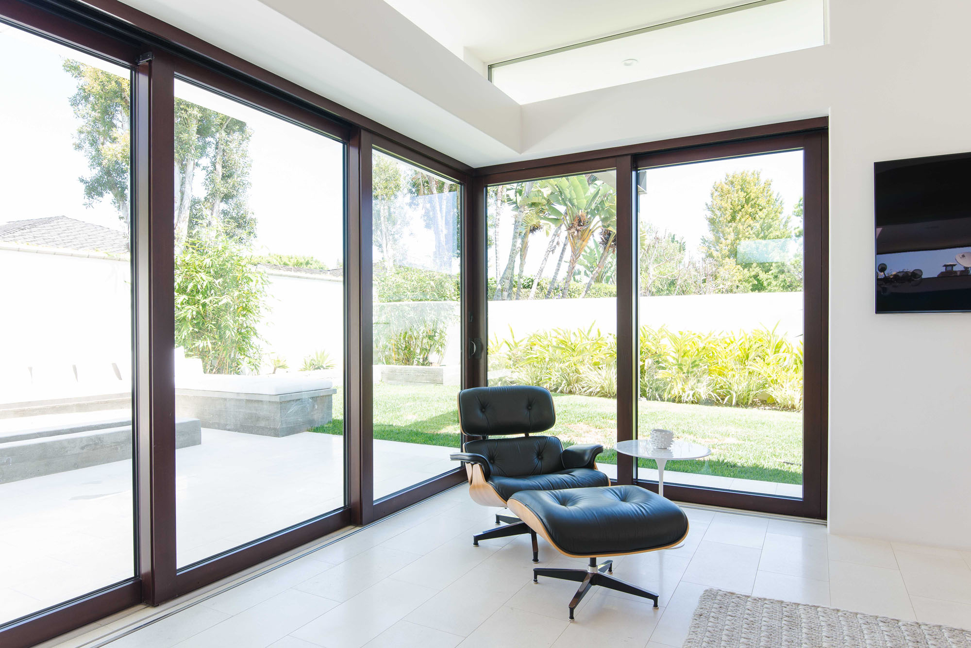 Contemporary Eames Lounge Large Window Melissa Morgan Design