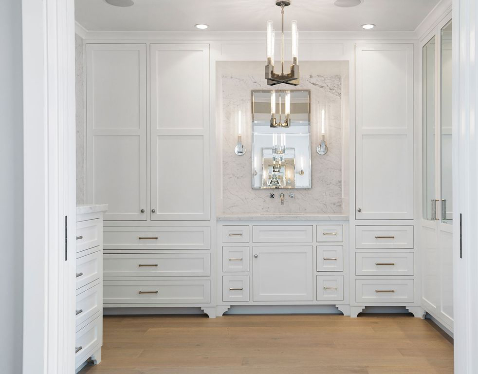 Closet White Woodwork Built In Melissa Morgan Design
